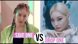 KPOP: SAVE ONE, DROP ONE (2019 VERSION #3)