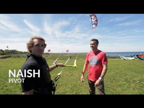 2015 Naish Pivot Kite Review with Robby Naish