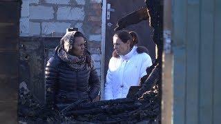 В Кировском районе Волгограда в пожаре погибли двое детей