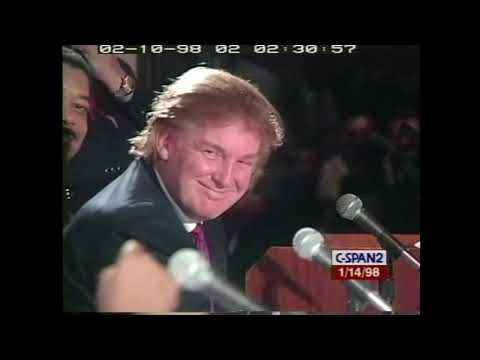 Remarks: Donald Trump Joins a Panel Discussion on Minority Business - January 14, 1998