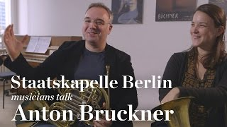 Staatskapelle Berlin Musicians Discussing Bruckner and Barenboim