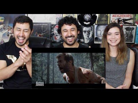 Honest Trailers - LOGAN (Feat. Deadpool) - 200th Episode!! REACTION!!!