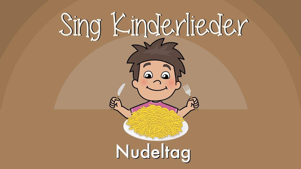 Das Kinderlied Nudeltag von Sing Kinderlieder