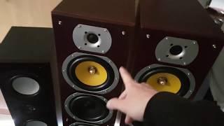 Beng V9B Standlautsprecher vs Elac 105 II Test. Qualität und Müll Lautsprecher Beng