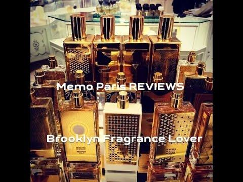 REVIEW of 6 fragrances from MEMO Paris + 12 Samples Draw Courtesy of Aedes de Venustas (CLOSED)