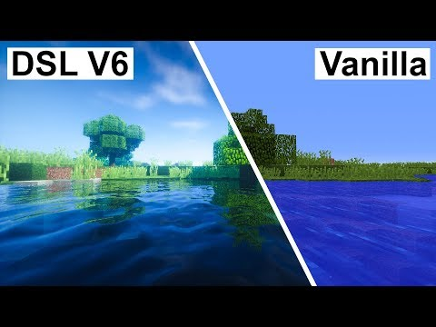 Minecraft Vanilla VS Robobo1221's Shaders (Super Duper