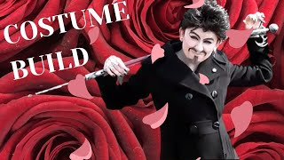Costume Build: Adam Lambert Inspired: wig styling, makeup, and more #dragking #adamlambert #costume