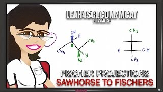 Sawhorse To Fischer Projections + Shortcut (vid 3 Of 5)