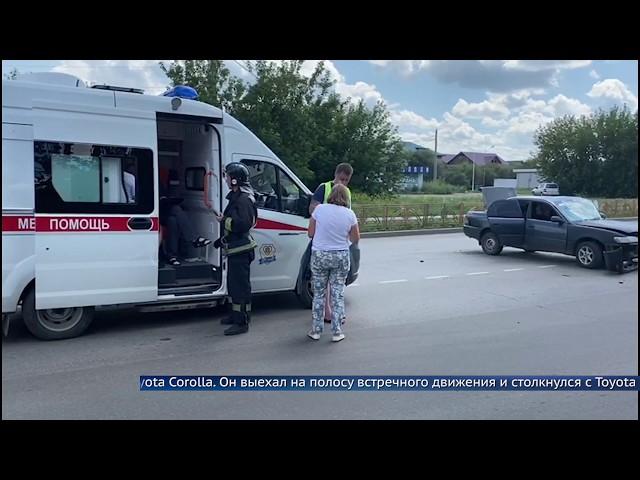 Двое ангарчан пострадали в ДТП
