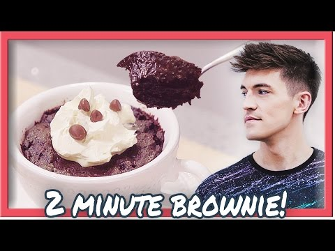 Video 2 MINUTE BROWNIE IN A MUG! (Improved!)