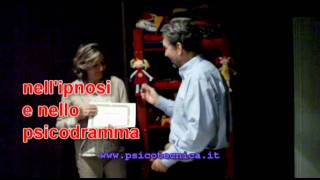 Diplomi a Psicotecnica 2011 - Training in psychodrama and hypnosis in Italy