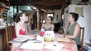 Black Sea Hotel - Chimayo Rehearsal at Kitchen Table: Sadila Jana - July 2014