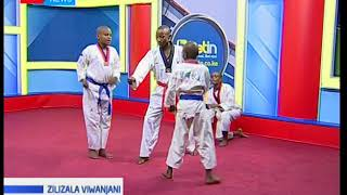 Kikosi cha Taekwondo cha Bridge Majengo: Zilizala Viwanjani