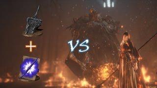 Darkmoon Fume Ultra Greatsword vs Sister Friede and Father Ariandel NG+7 (No Damage)
