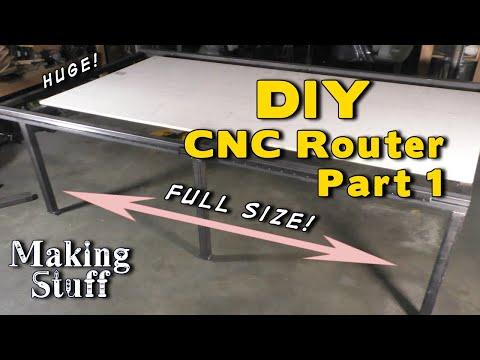Scratch Building a Supersized CNC Router