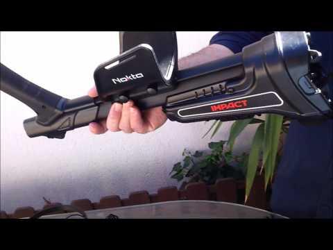 Detector de metales NOKTA IMPACT - UNBOXING y primera toma de contacto en ESPAÑOL (HD)