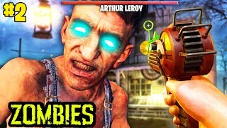 INSANE LEROY BOSS FIGHT EASTER EGG ENDING ON BURIED 2. (This Is Crazy)