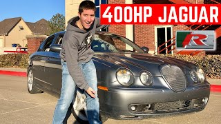 I BOUGHT The CHEAPEST JAGUAR S-Type R In The USA *Ultimate 400HP Black Friday Deal*