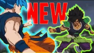 Dragon Ball Super BROLY Movie Trailer NEW FIGHT SCENE!