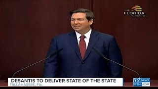 Florida Governor Ron DeSantis to deliver the State of the State address