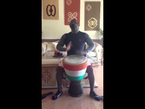 Eric Bli Bi Gore   Gbe Gbe   Ivory Coast Rhythm   African Djembe Drum