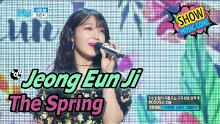 [HOT] Jeong Eun Ji - The Spring, 정은지 - 너란 봄 Show Music core 20170422