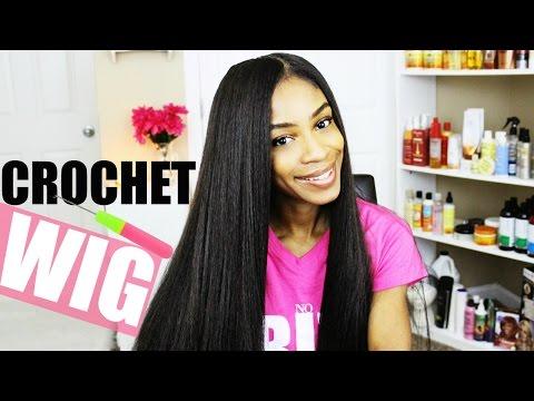 How to Make Crochet Braid Wigs► Kanekalon Hair
