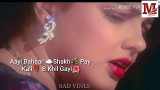 whatsapp status Tu mil saka na Humko lyrics - YouTube