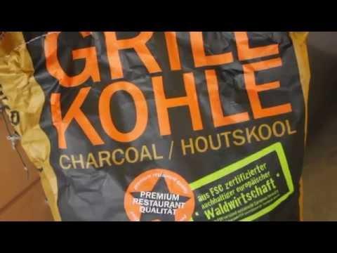 Monolith-Kohle im Test - deutsches Grill- und BBQ-Video - 0815BBQ