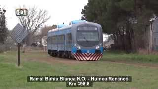 preview picture of video 'Tren de Trenes Argentinos maniobrando en General Pico'