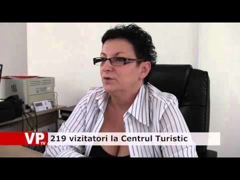 219 vizitatori la Centrul Turistic