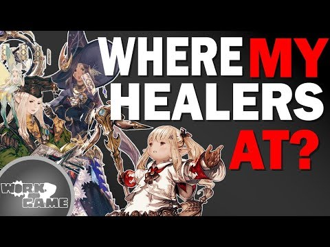 FFXIV Shadowbringers Is there a Crisis with Healers? | Let's Discuss