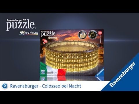 Ravensburger - 3D Puzzle - Colosseo Night Edition