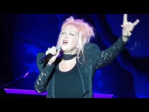 Cyndi Lauper - St. Augustine, FL - June 12, 2016  (A PART HATE and TRUE COLORS)