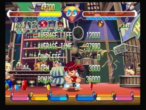 pocket fighter playstation 1