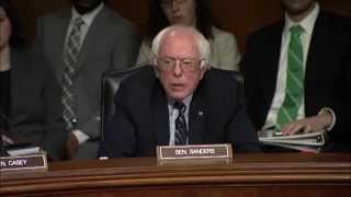 Bernie Sanders Grills FDA Nominee Over Drug Prices