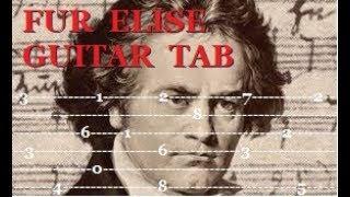Fur Elise - Guitar Tab