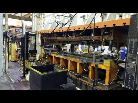 400 ton Verson S2-400-132-60t Straight Side Press -  Rebuilt in 2019