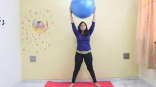 prenatal workout with birth ball