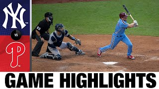 J.T. Realmuto homers in Phillies' 5-4 win | Yankees-Phillies Game Highlights 8/6/20