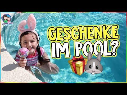 EILMELDUNG! Osterhase im Pool gesichtet 🐰 Findet Ava dort Geschenke? Geschichten und Spielzeug