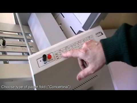 A3 Paper Folding Machine