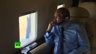 Владимир Путин осмотрел красоты Алтая с высоты птичьего полета