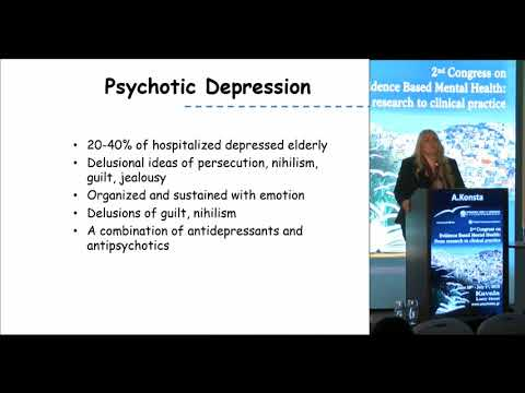 A. Konsta - Psychotic disorders in old age