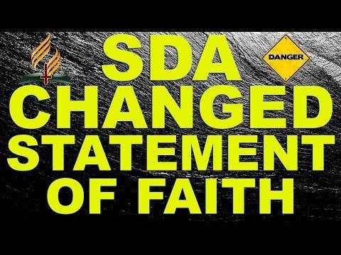 SDA Changed Statement of Faith