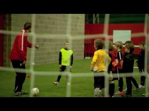 Youth Football Coaching - Skills Corridor Plus - YouTube