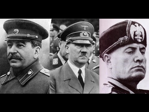HITLER, STALIN Y MUSSOLINI (Año 1939) Pasajes de la historia (La rosa de los vientos)