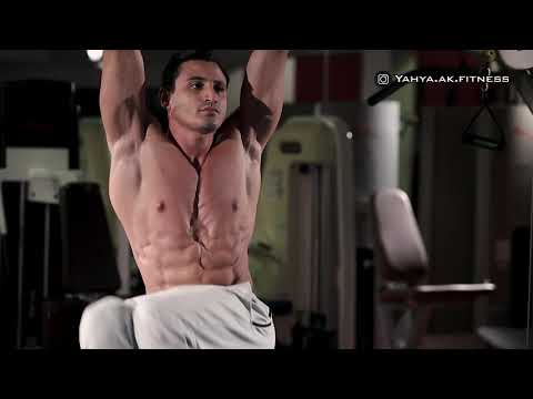 Hanging Oblique Knee Raise - Abs Exercise