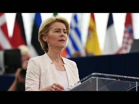 Ursula von der Leyen voted new EU chief, analysis by FRANCE 24's Armen Georgian