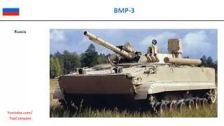 BMD-3 compared with BMP-3, Infantry fighting vehicles full specs